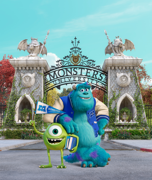 Mike & Sully #MonstersU