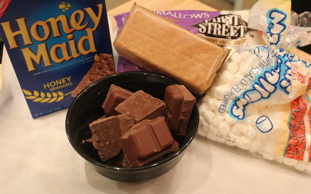 s'mores bark ingredients