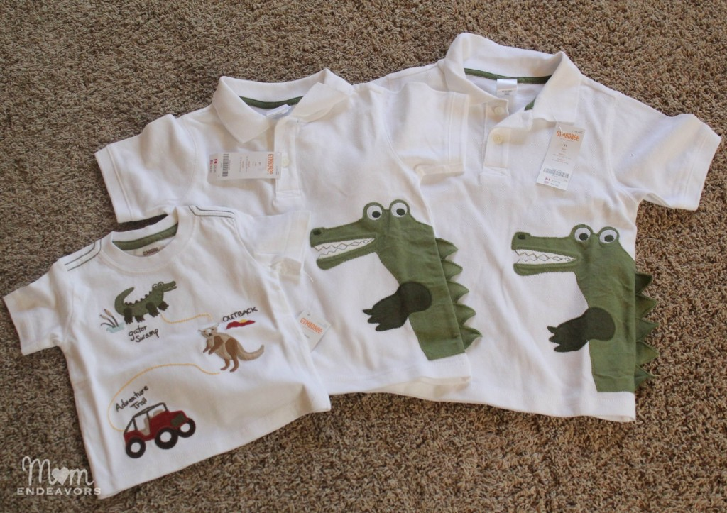 Australian Outback line from Gymboree