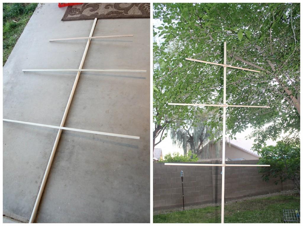 Building a mast
