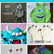 Ideas for a Monsters University Halloween!! (Pre-order your DVD now!) #MUPreorder