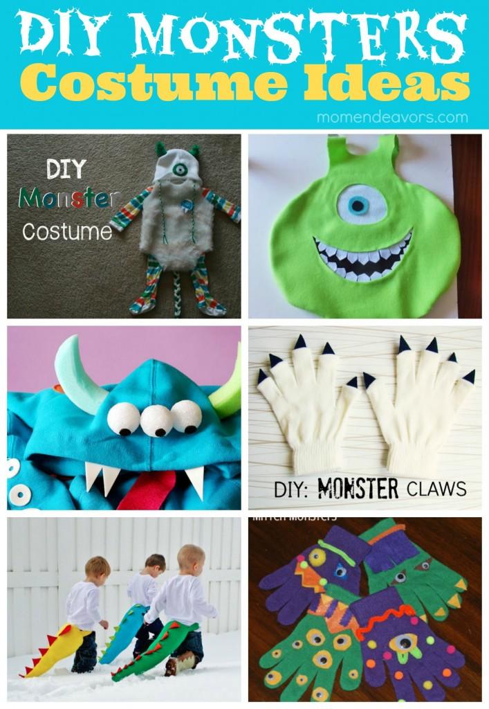 DIY Monster Costume Ideas