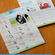 DIY Reuseable Math Practice Worksheets {+ Fellowes Saturn2 95 laminator giveaway} #LaminateIt