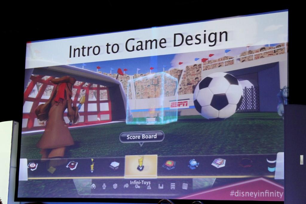 Disney Infinity Intro to Game Design