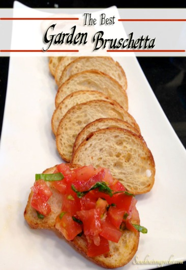 Fresh Garden Bruschetta
