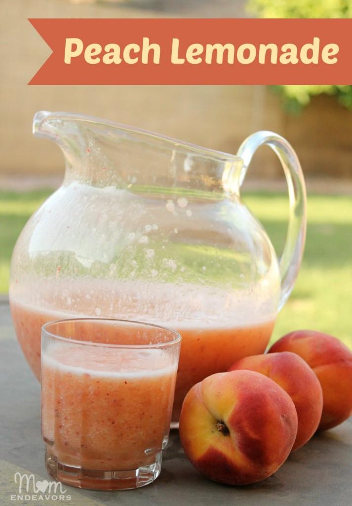 Frozen Peach Lemonade