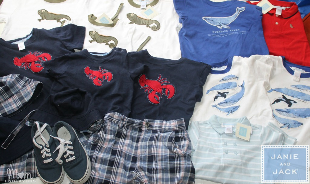 Janie and Jack summer clothes finds