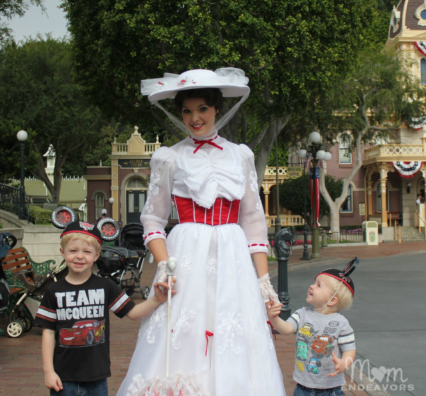 Mary Poppins at Disneyland