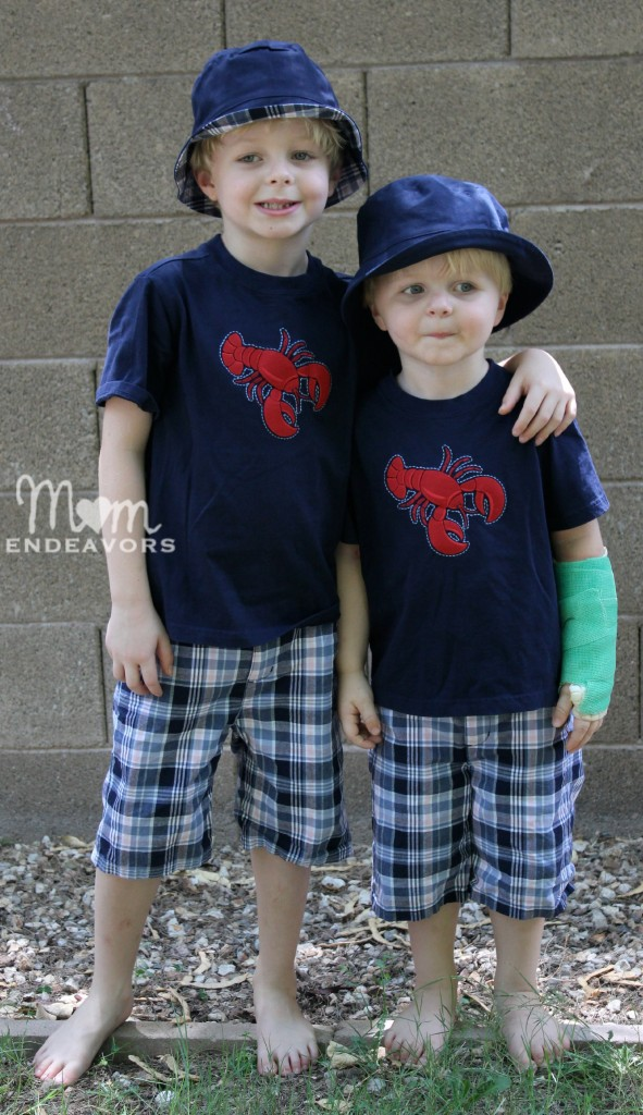 Matching Janie and Jack Summer outfits