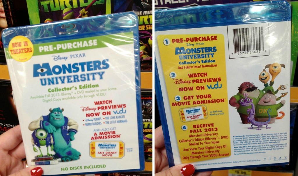 Monsters University Pre-Order #MUPreorder