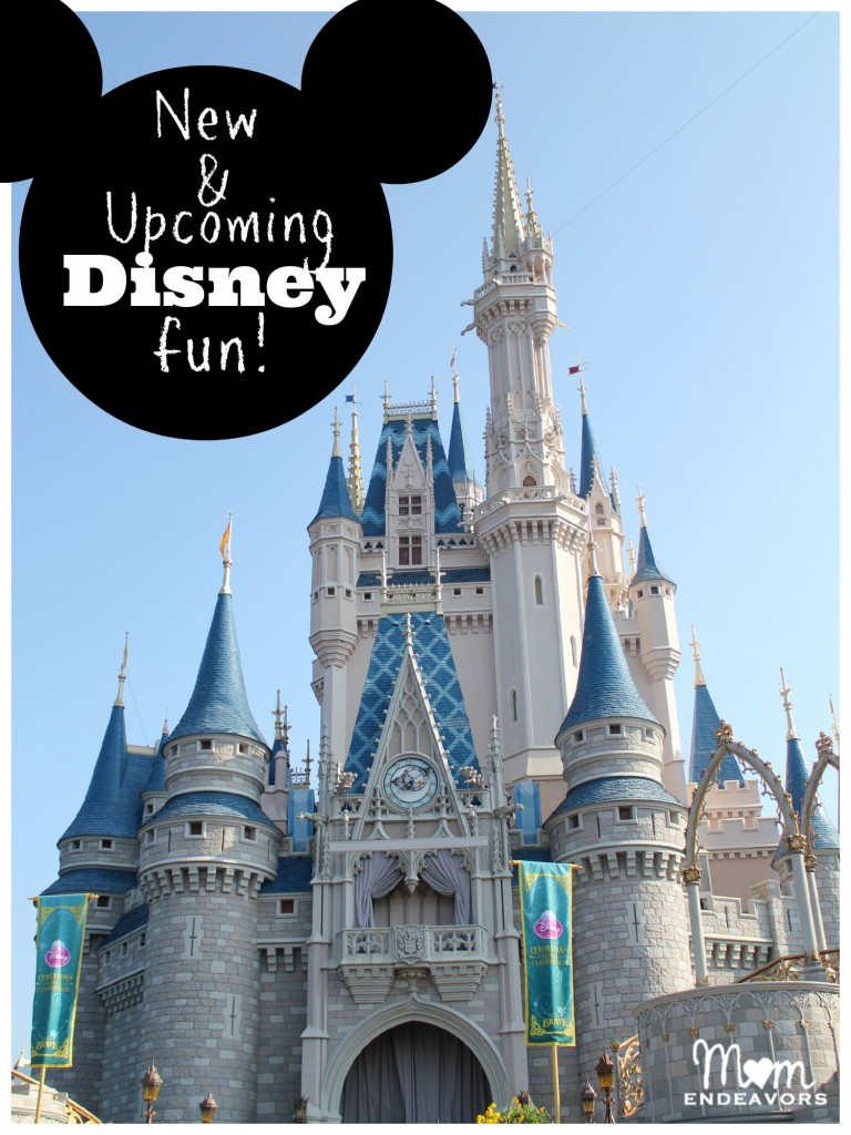 New Disney attractions & movies