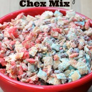 Patriotic Sweet & Salty Chex Mix
