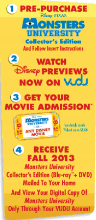 Monsters University Preorder