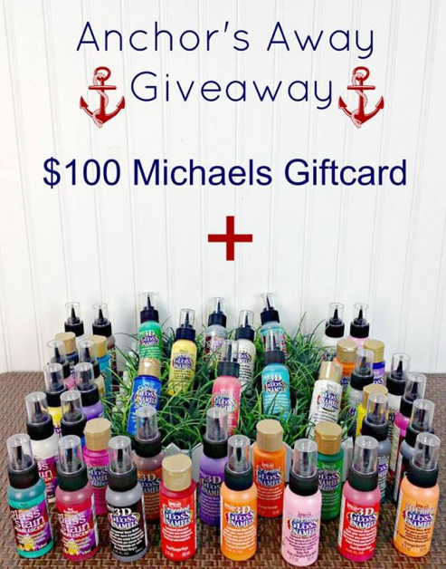 DecoArt + Michaels giveaway
