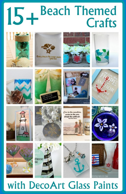 Glass Beach themed projects