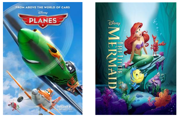 #DisneyPlanesPremiere #LittleMermaidEvent