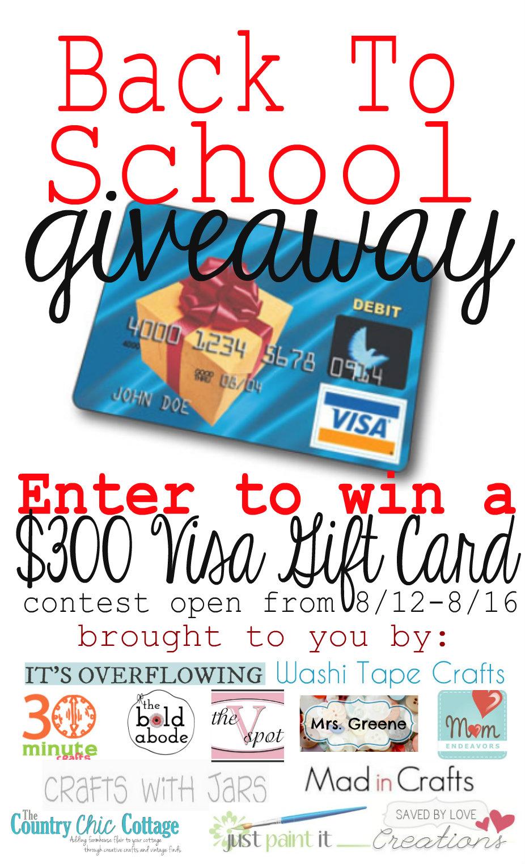 300 visa gift card giveaway