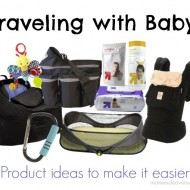 Baby Travel Products (& $50 Target Gift Card Giveaway) {Travel Tuesday}
