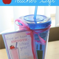 Smooth School Year – Easy Back To School Teacher Gift