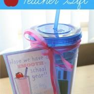 Smooth School Year – Easy Back To School Teacher Gift