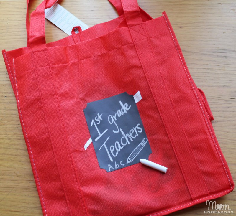 Back to School Teacher Tote Gift