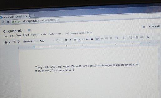 Chromebook Google Drive