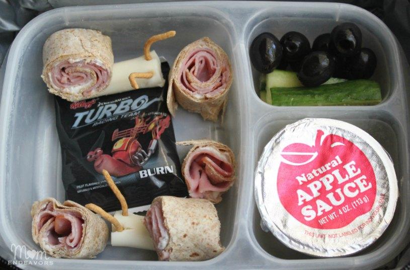 Creative school lunch idea