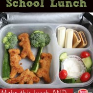 #Ad Dinosaur Chicken Nugget School Lunch Idea & Tyson's Back to School Project A+ Program #Clip4School