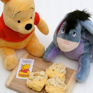 Winnie the Pooh Sweet Hunnycomb Treats (with FREE printable) #DisneyWinnie