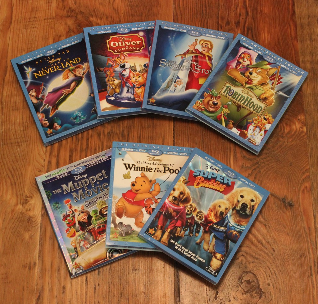 Disney Movie Prize Pack Giveaway