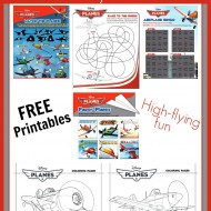 FREE Printable Disney Planes Activities & Coloring Sheets #DisneyPlanesPremiere