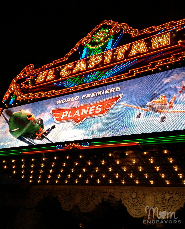 El Capitan Theater Planes Premiere