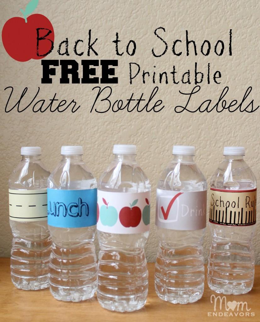 Free printable water bottle labels #shop