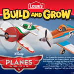 Lowe's Build and Grow Planes Workshops