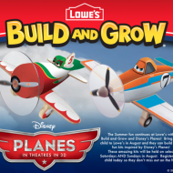 Lowe's Build & Grow Disney Planes Workshops