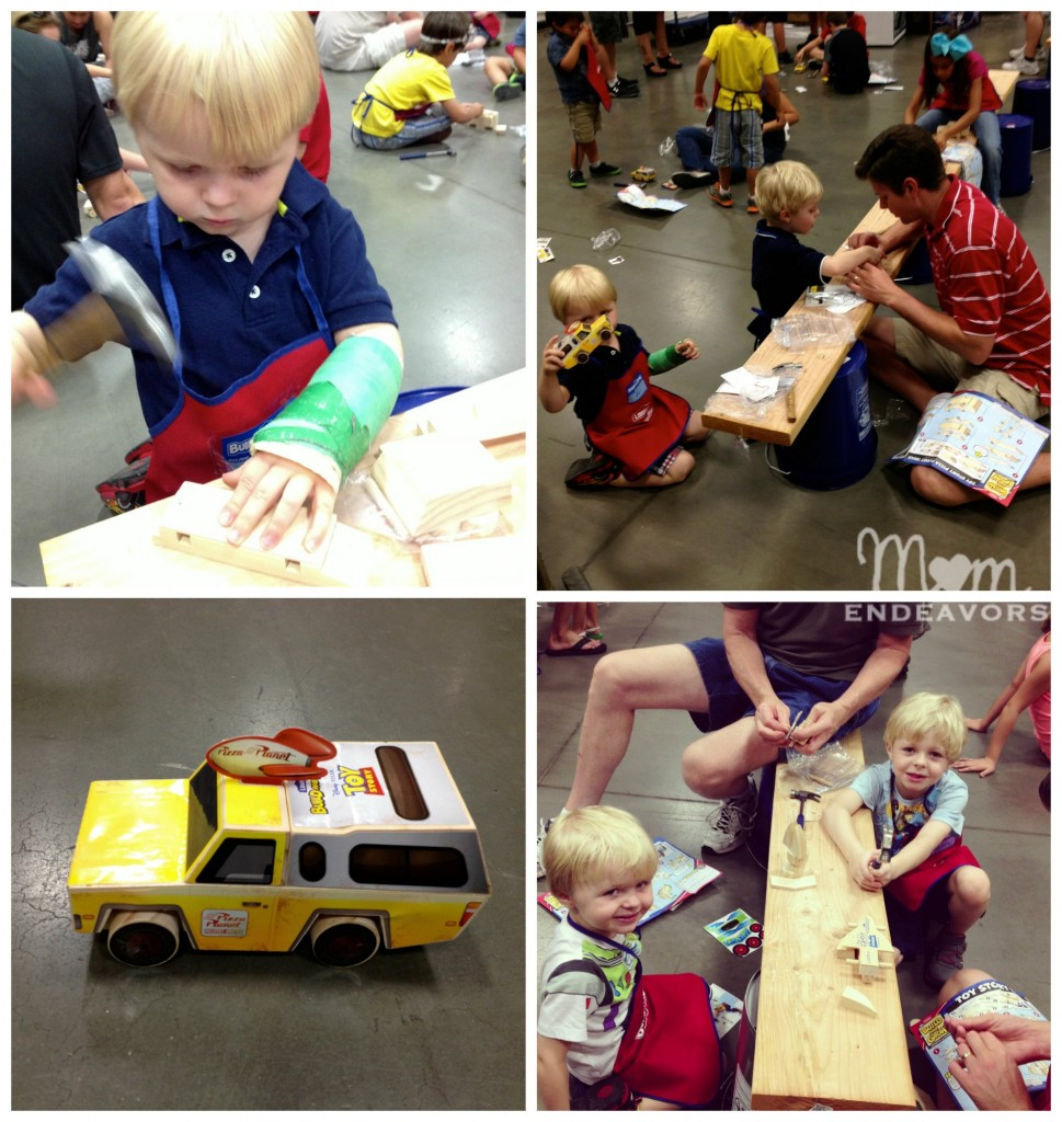 Lowes Toy Story Workshops
