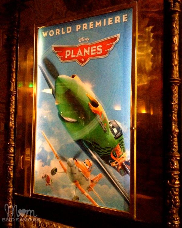 Planes Premiere at the El Capitan