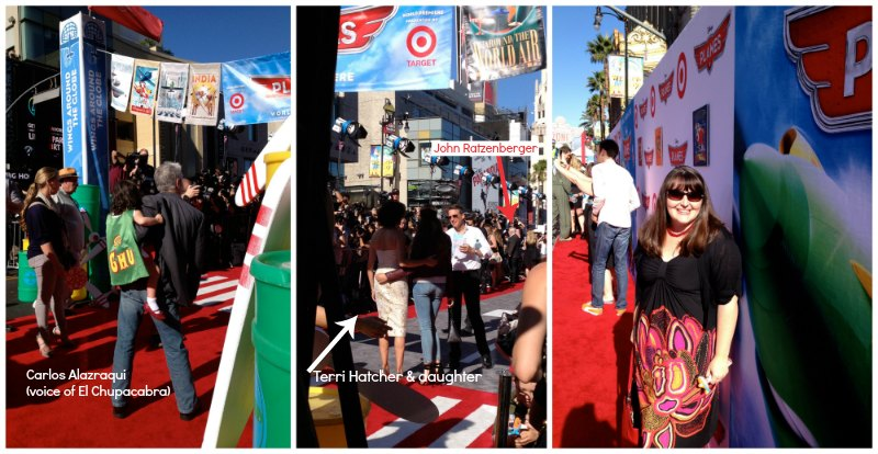 Planes Red Carpet Celebrities