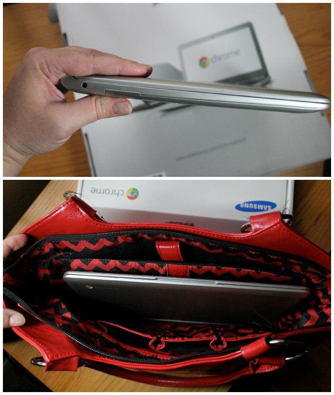 Samsung Chromebook size