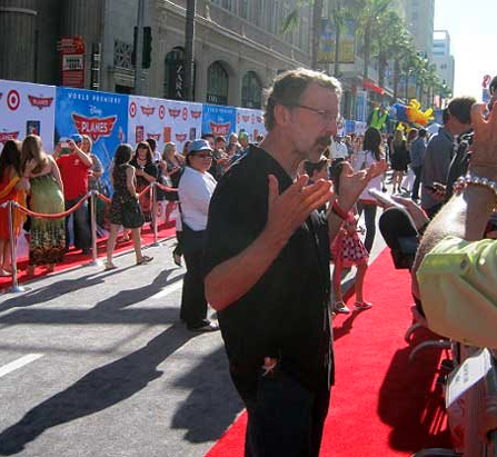 Ed Catmull on Disney Planes Red Carpet