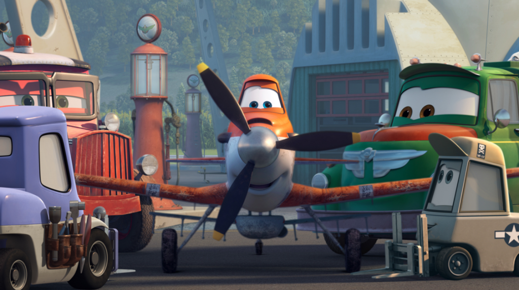 Dusty in Disney's Planes