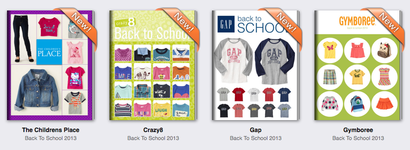 Catalog Spree Back to School