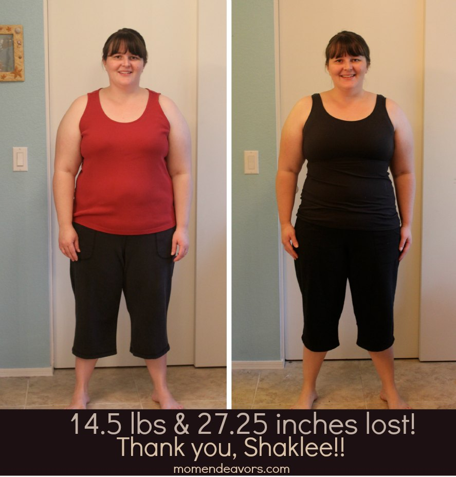 Shaklee 180 Before & After