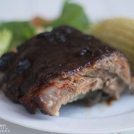 The BEST Smoked BBQ Baby Back Ribs!! {College Football Tailgate Party}