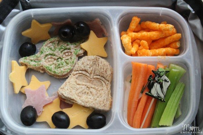 Star Wars Bento School Lunch