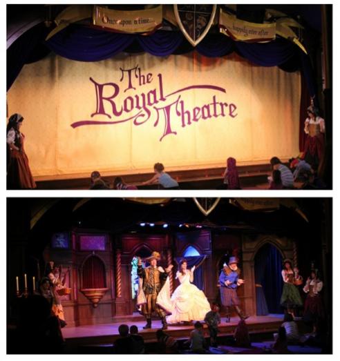 The Royal Theatre at Disneyland