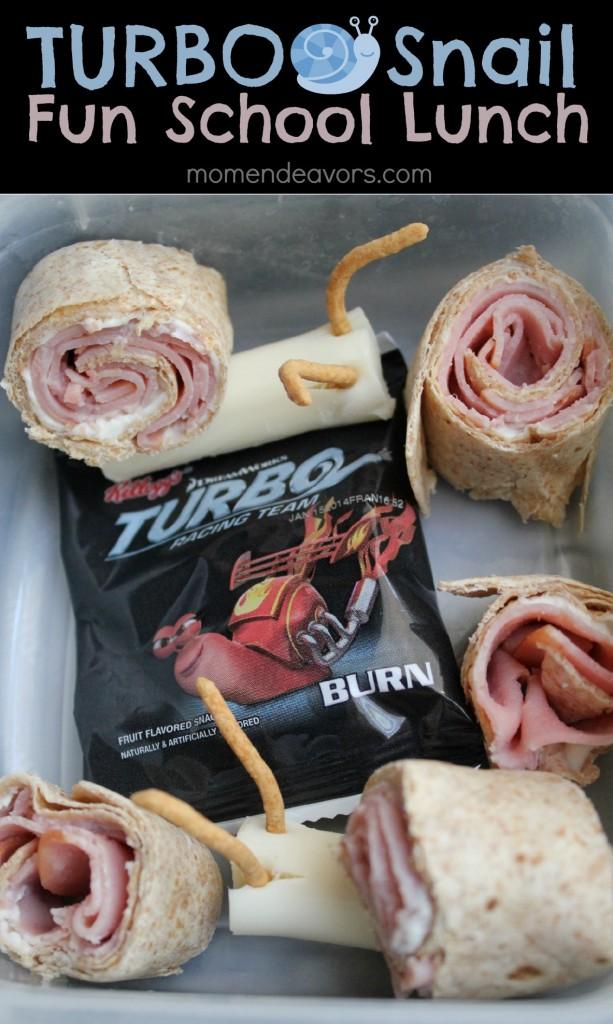 Turbo Snail School Lunch