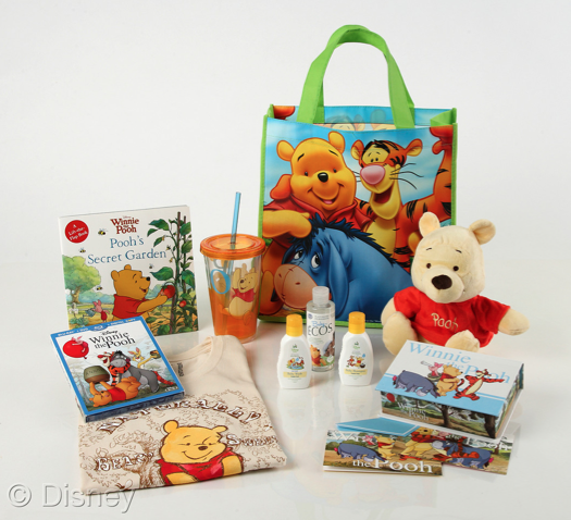 Winnie the Pooh Gift Bag Giveaway