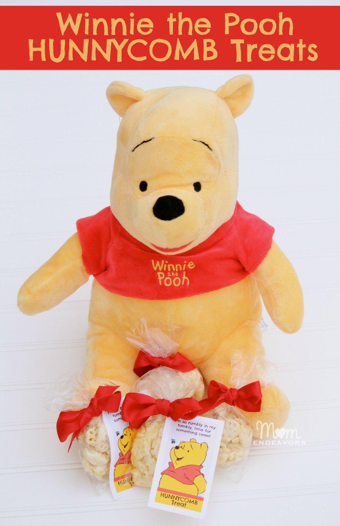 Winnie the Pooh Hunnycomb Treats