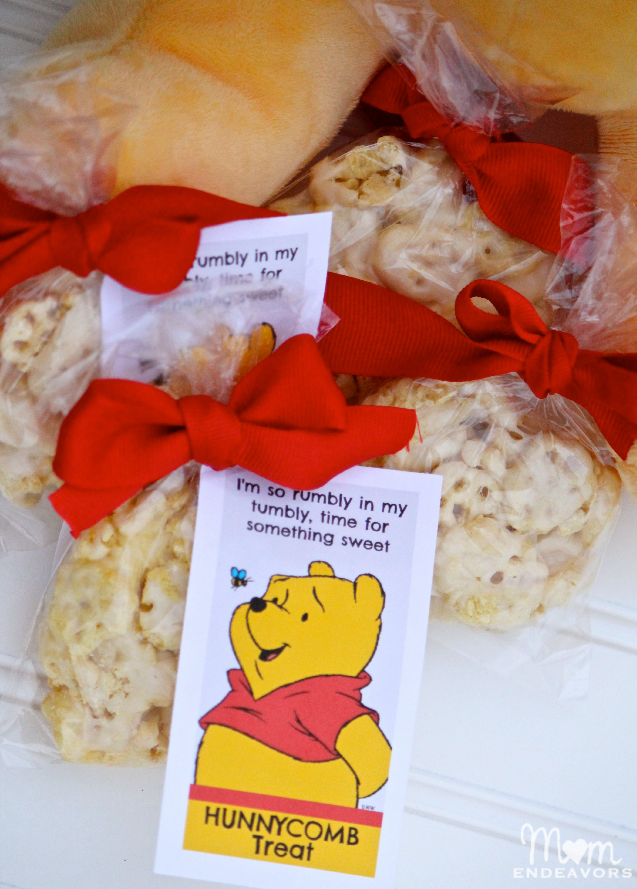 Winnie the Pooh Party Treats